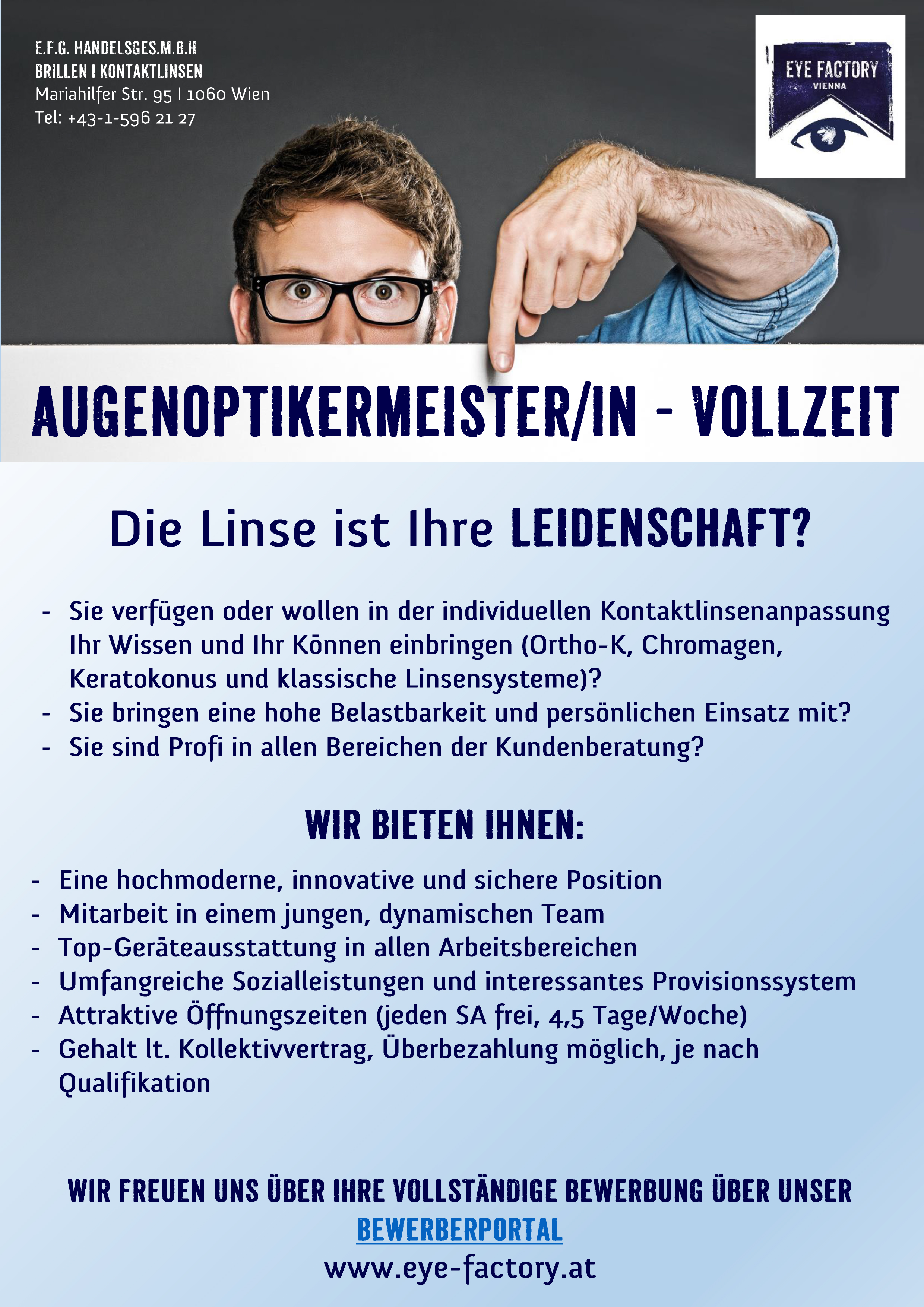 Jobs Ihr Augenarzt In Wien Vienna Alle Kassen